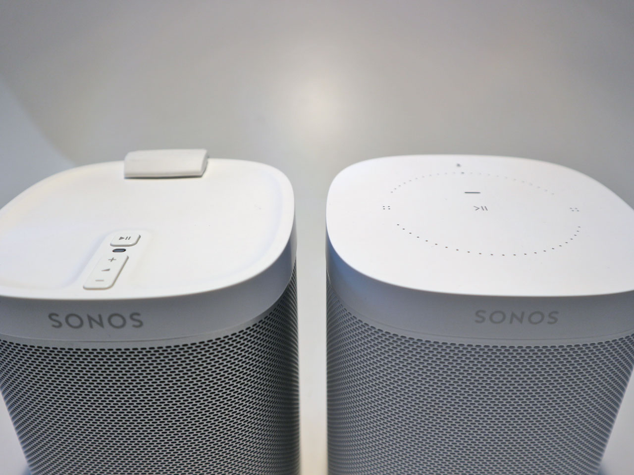 Sonos One und Sonos Play:1 - Bedienelemente