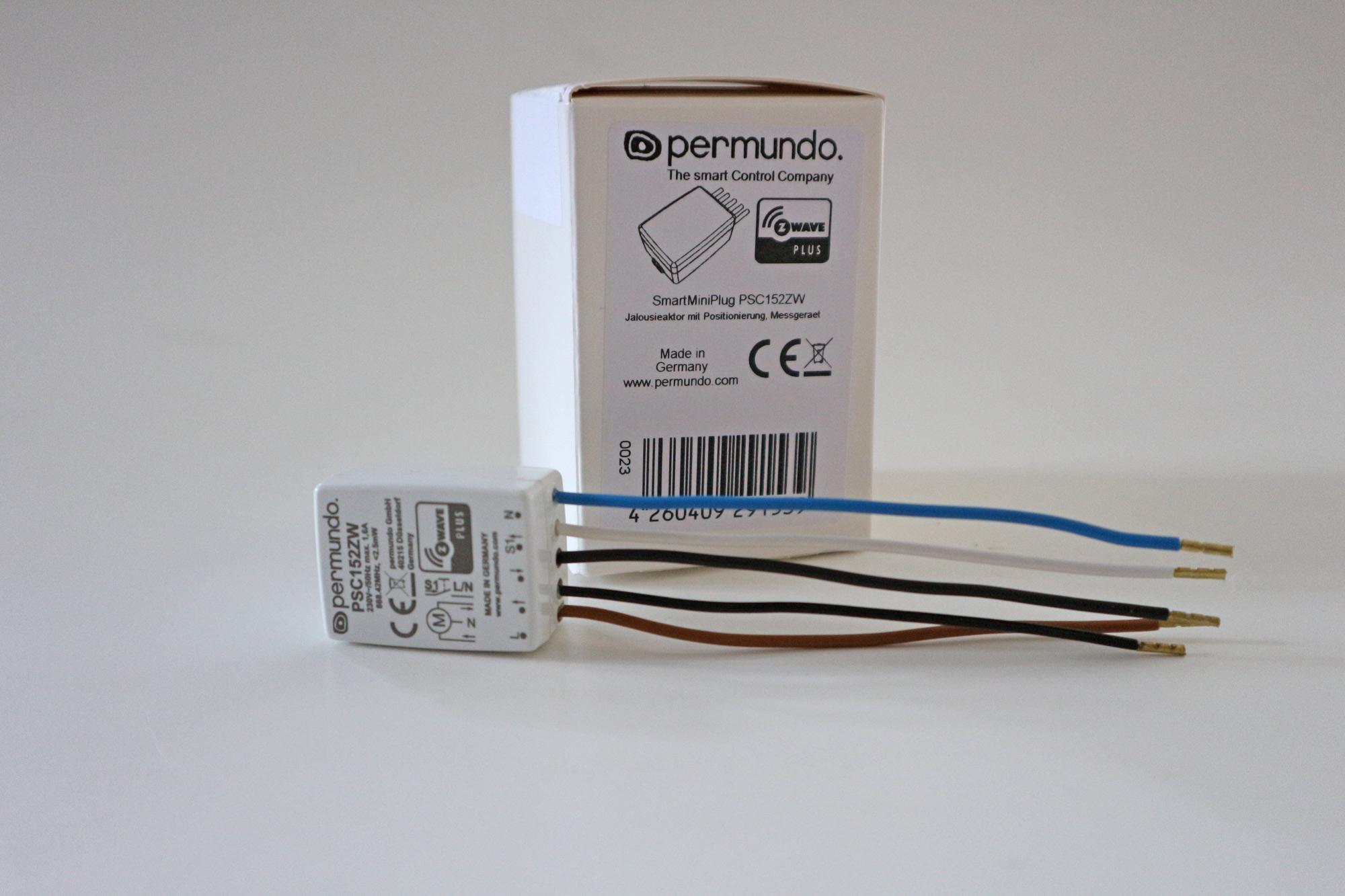 permundo Z-Wave Rollladen-Modul: extrem klein und mit Überraschungen ...
