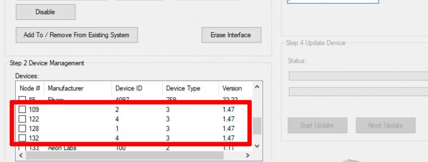Firmware Update Schritt 3