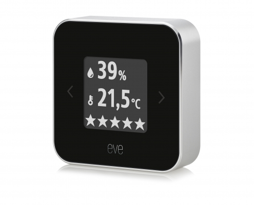 Eve Room – neue Version des Raumklima- & Luftqualitäts-Monitors