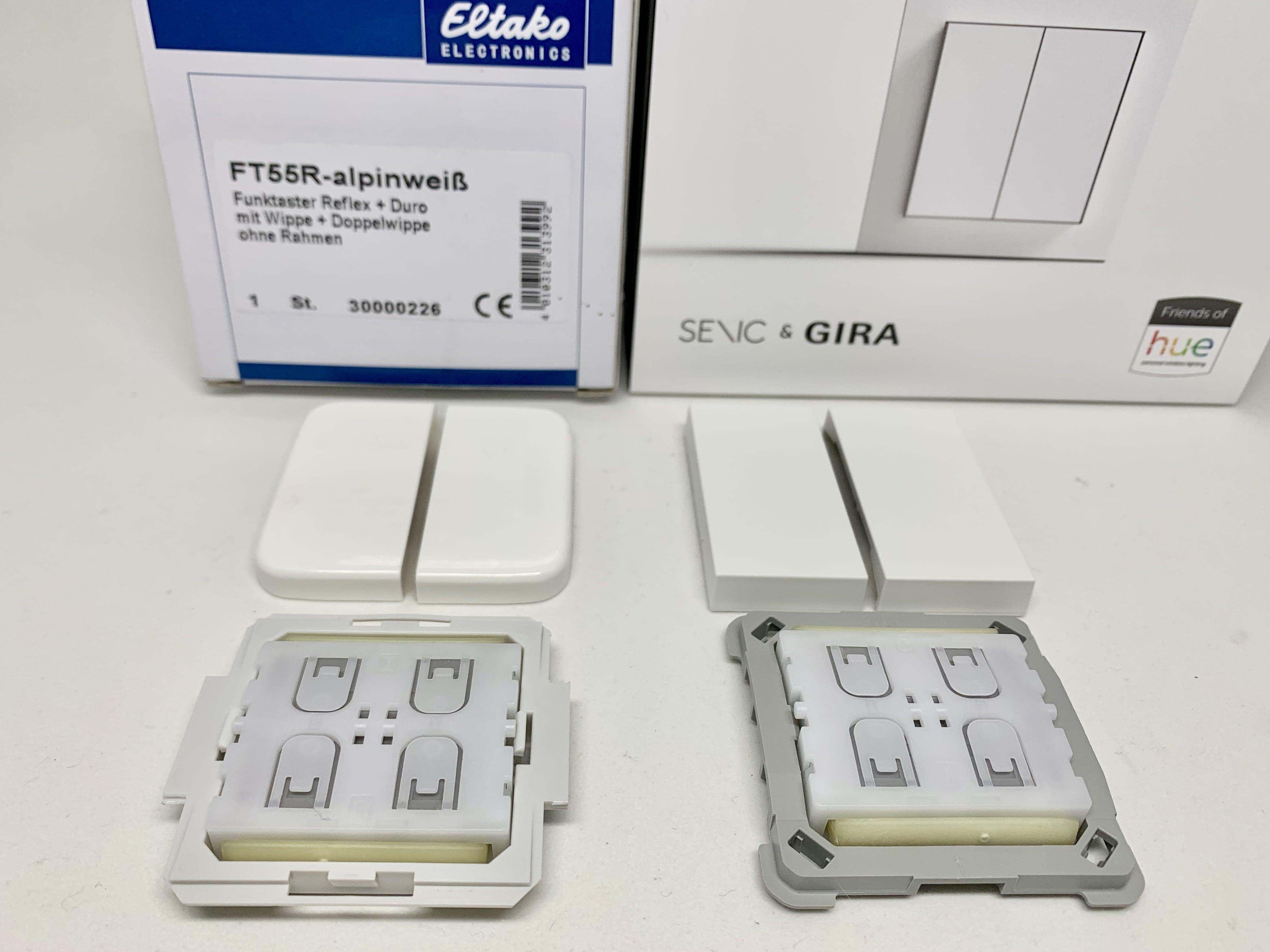 Eltako FT55 und Senic Smart Switch
