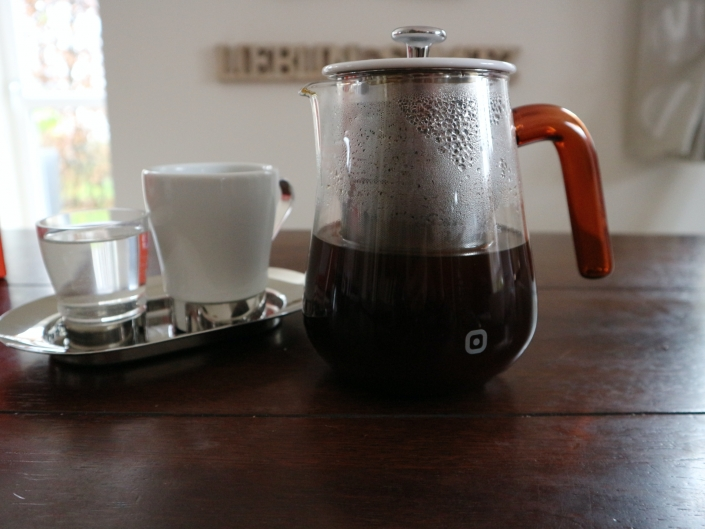 Carl Henkel X-tract - Kaffee zubereitet
