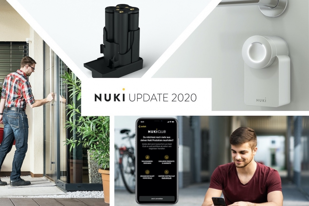 NUKI Update 2020 - Ankündigung Power Pack, White Edition, Nuki Club und Installationsservice